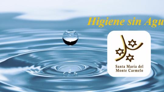 higiene sin Agua