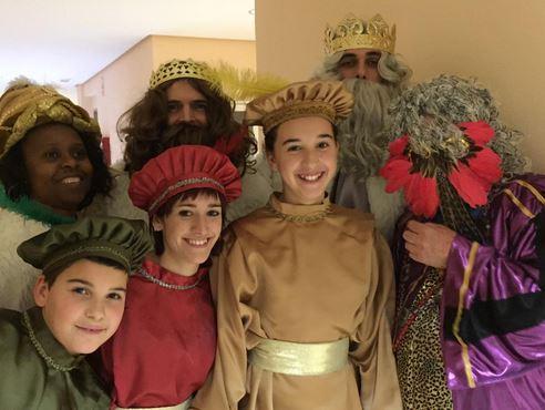 Los Reyes Magos nos visitan