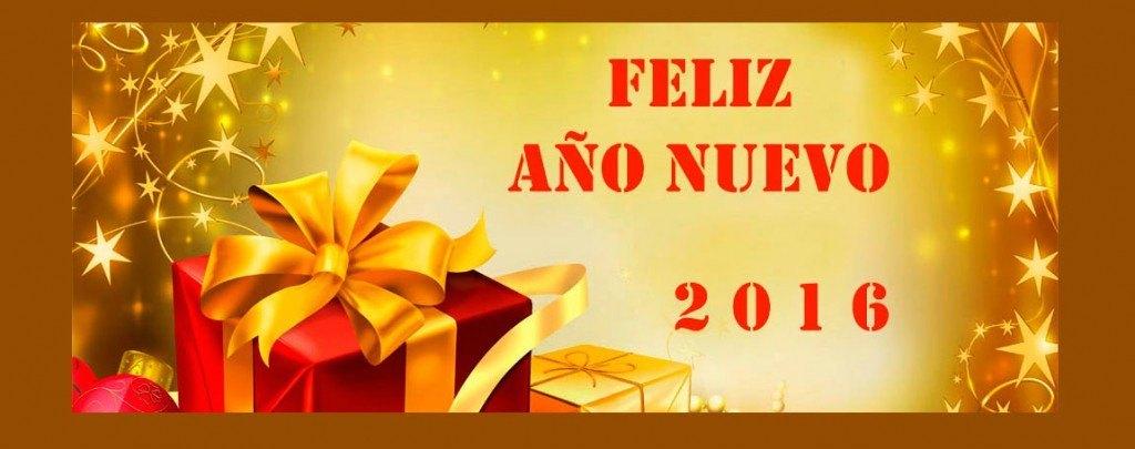 ¡Feliz Año Nuevo! ¡Feliz 2016!