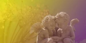un angel en una residencia